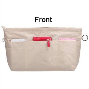 Accessories - Best Ever Beige Nylon Bag Organizer! Medium